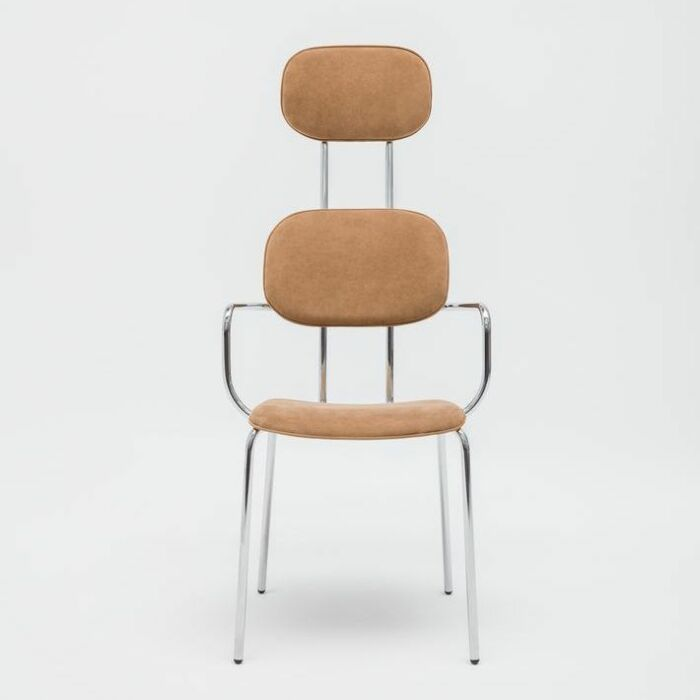 <strong>New School chair Fabric: </strong> Alcantara <strong> Color: </strong>4180 <strong>Base color: <strong> 0017