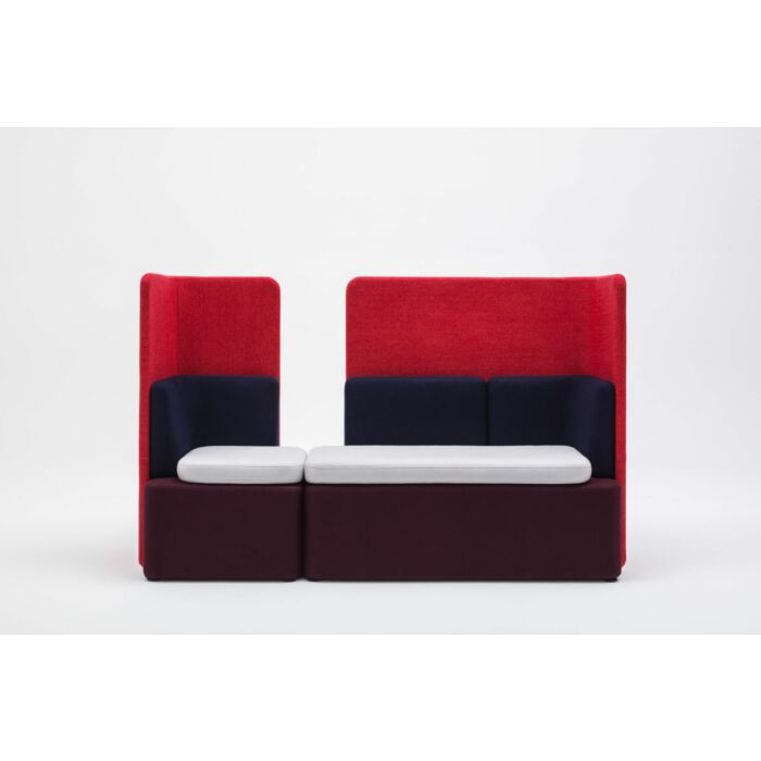 <strong>Kaiva sofa Fabric:</strong> Synergy <strong>Color: </strong> Lds88, Lds20, Lds69, Lds86