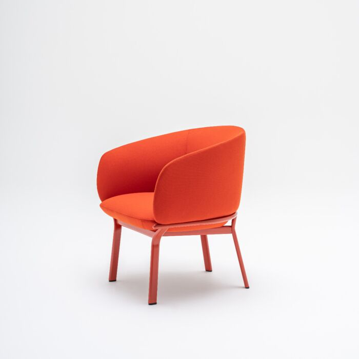 <strong>Grace armchair Fabric:</strong> Field <strong>Color:</strong> FD662 <strong>Base color: </strong> M014