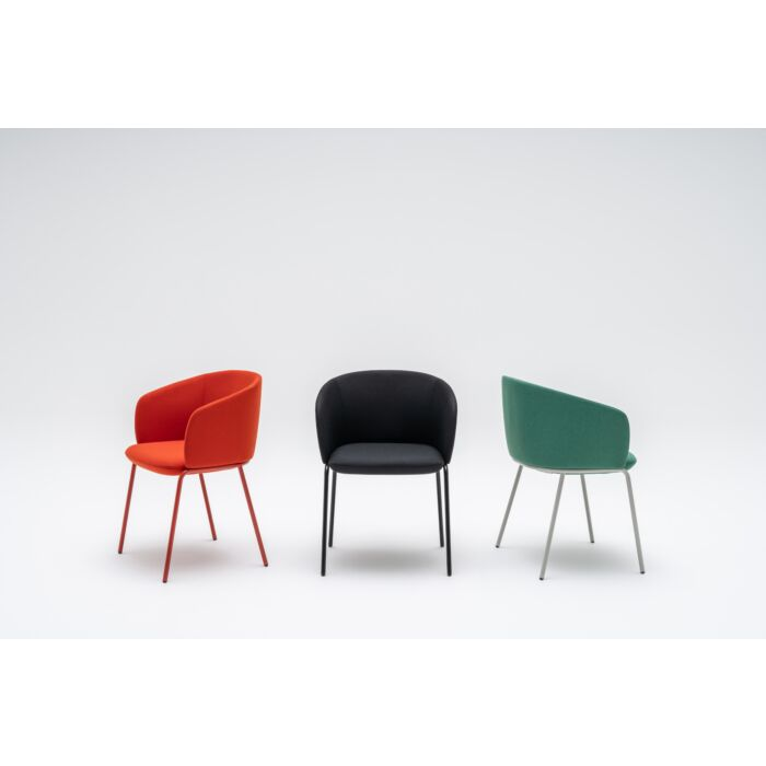 <strong>Grace chair Fabric:</strong> Field, Xtreme <strong>Color:</strong> FD662, Xr009, FD963 <strong>Base color: </strong> M014, M115, M011