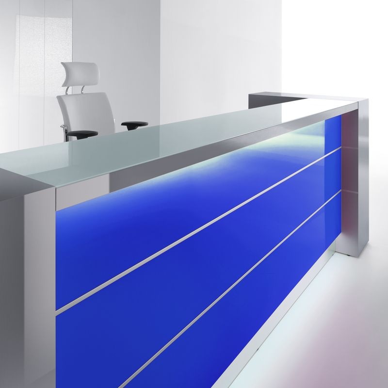 Colors for Reception Area – Blue